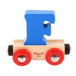 BigjigsRail Wagonik literka F