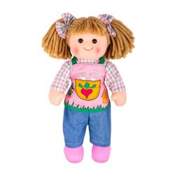 Bigjigs Toys Látková bábika Elsie 34cm
