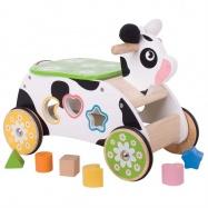 Bigjigs Toys Wesoła krowa - jeździk dla dzieci