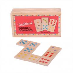 Bigjigs - drevené domino klasické