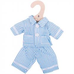 Bigjigs Toys modré pyžamo pre bábiku 25 cm