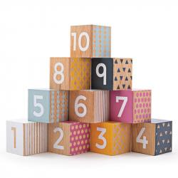 Bigjigs Toys Didaktické kocky čísla