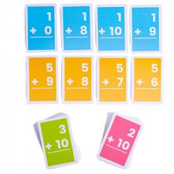 Bigjigs Toys Kartičky sčítanie 1-10