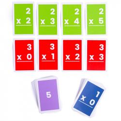 Bigjigs Toys Kartičky násobenie 1-6