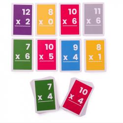 Bigjigs Toys Kartičky násobenie 7-12
