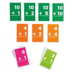 Bigjigs Toys Kartičky delenie 1-10