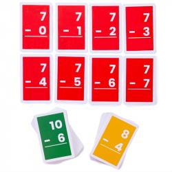 Bigjigs Toys Kartičky odčítanie 1-10