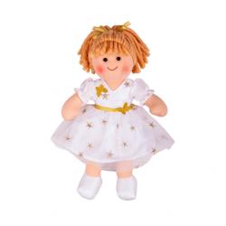 Bigjigs Toys Látková bábika Charlotte 28cm