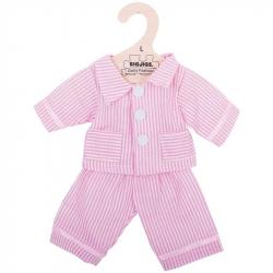 Bigjigs Toys ružové pyžamo pre bábiku 35 cm