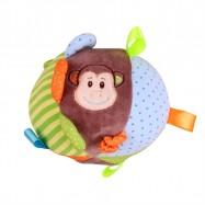 Bigjigs Toys textilní aktivní koule - Opička Cheeky