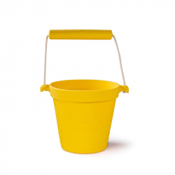 Bigjigs Toys Plážový vedierko žltý