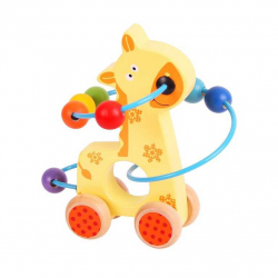 Bigjigs - Żyrafana kółkach- pętla motoryczna dla dzieci