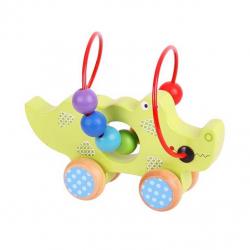 Bigjigs - Krokodylna kółkach- pętla motoryczna dla dzieci