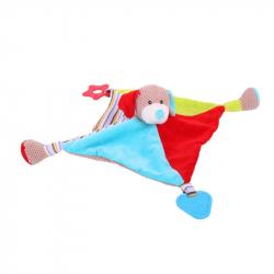 Bigjigs textilná hračka - Psík Bruno s hryzátkami