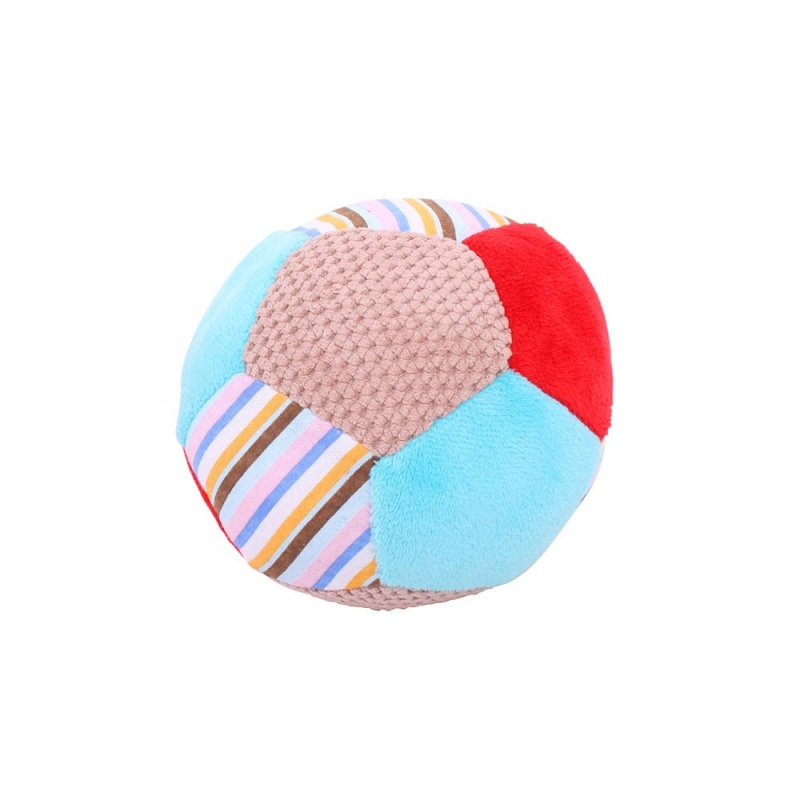 Bigjigs Toys textilní hračka - Chrastítko balónek Bruno