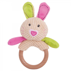 Bigjigs Toys - Hrkálka krúžok králiček Bella