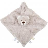 Bigjigs Baby Textilná hračka kamarát medvedík