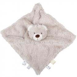 Bigjigs Baby Textilní hračka kamarád medvídek
