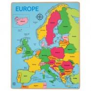 Bigjigs Toys puzzle - Mapa Európy