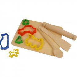 Dřevěné kreativní hračky - Nástroje pro vykrajování těsta