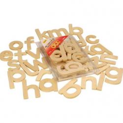 Bigjigs Toys - pomoce szkolne - Alfabet małe litery