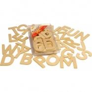 Bigjigs Toys - Pomoce szkolne - Alfabet drukowane litery