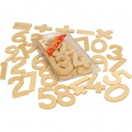 Bigjigs Toys pomoce szkolne - zestaw liter