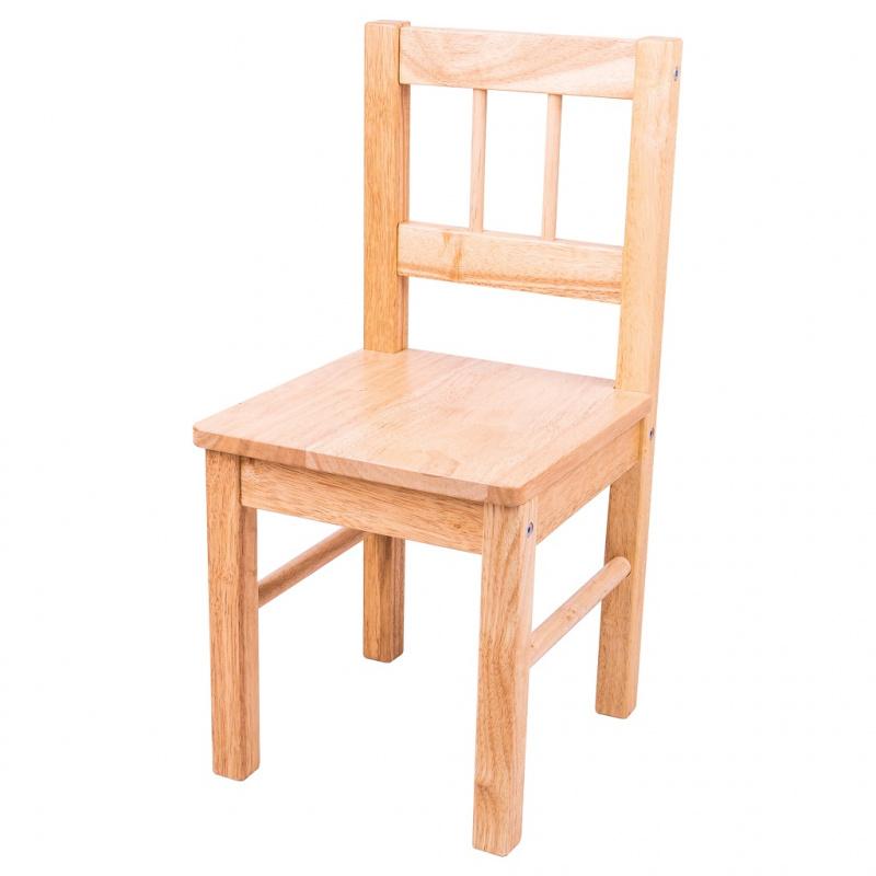 Bigjigs zabawki dla dzieci naturalne drewniane krzesło
