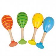 Bigjigs Toys barevná rumbakoule junior 1ks