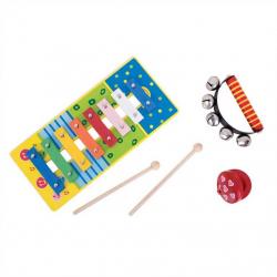 Bigjigs Toys detský hudobný set