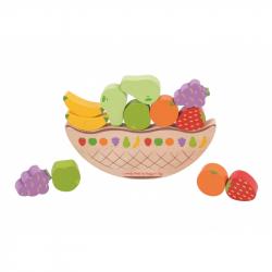 Bigjigs Toys balančná hra - Ovocie