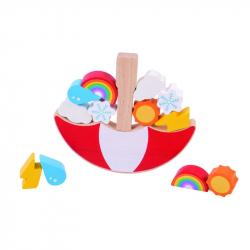 Bigjigs Toys balanční hra - Počasí