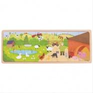 Bigjigs Toys puzzle - Na farme