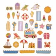 Bigjigs Toys - magnetky prázdniny pri mori