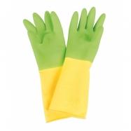 Bigjigs Toys Detské rukavice dlhé zelené