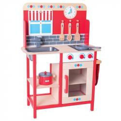 Kuchnia dla dzieci drewniana Bigjigs Toys