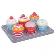 Bigjigs Toys Dřevěné hračky - Muffiny