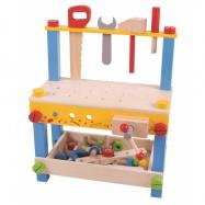 Bigjigs Toys Môj prvý pracovný stôl