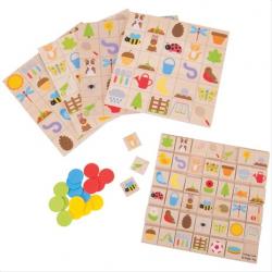 Bigjigs Toys záhradné bingo