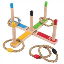Bigjigs Toys hra - Hádzanie kruhov