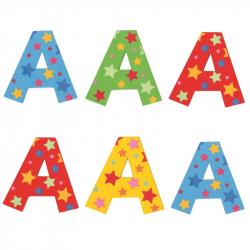 Bigjigs Toys hviezdičkové písmenko A