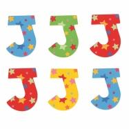 Bigjigs Toys hvězdičkové písmenko J