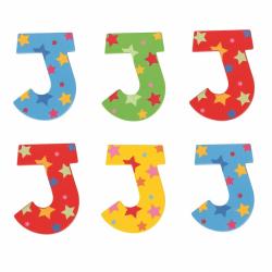 Bigjigs Toys hviezdičkové písmenko J