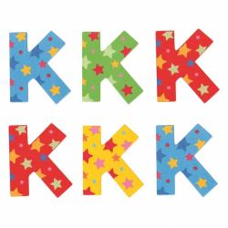 Bigjigs Toys hviezdičkové písmenko K