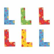 Bigjigs Toys hvězdičkové písmenko L