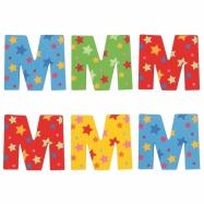 Bigjigs Toys hvězdičkové písmenko M