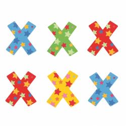 Bigjigs Toys hviezdičkové písmenko X