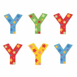 Bigjigs Toys hviezdičkové písmenko Y