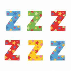 Bigjigs Toys hviezdičkové písmenko Z
