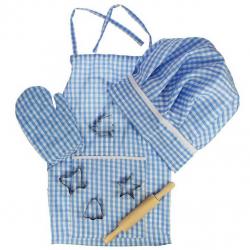 Bigjigs Toys modrý set šéfkuchára